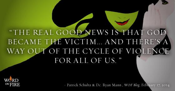 God becomes a victim
