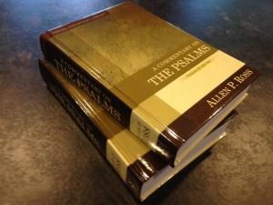 commentary on the Psalms - Allen Ross