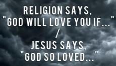 grace vs religion