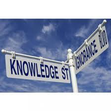 knowledge ignorance futility