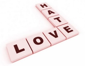 love and hate in God