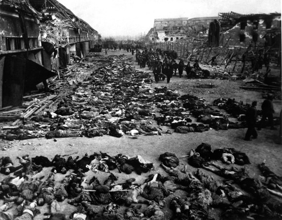 Nazi Germany killing Jews
