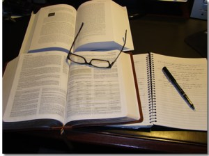 how I study the Bible
