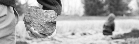 stoning children