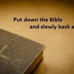 Strive for Biblical Living More than Biblical Literacy