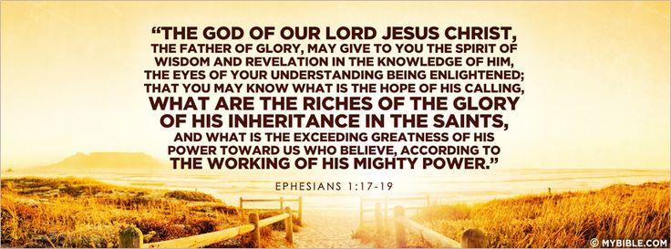 Ephesians 1 15-19