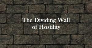 wall of hostility