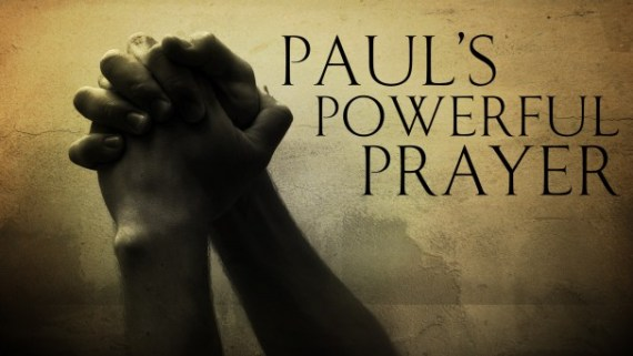 prayer is powerful Ephesians 3