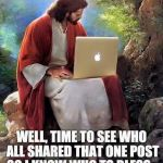 DON'T Share this if you Love Jesus!
