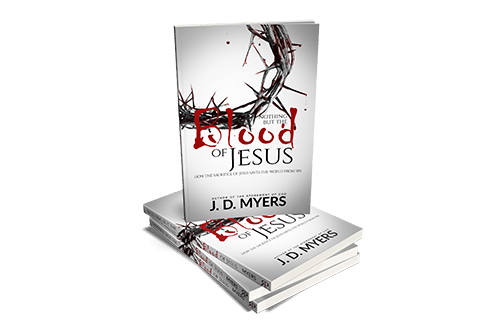 Nothing but the blood of Jesus book stack