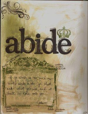 abide 1 John