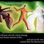 Changing Clothes (Ephesians 4:20-24)