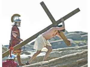 Jesus Christ Roman soldier