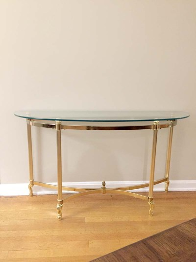 Brass Console (Before)