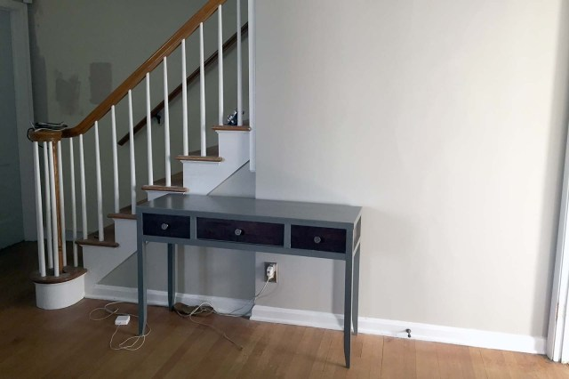Console Table (Before)