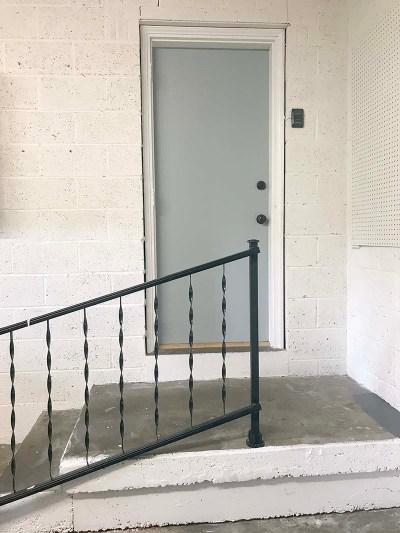 Garage Door Painted