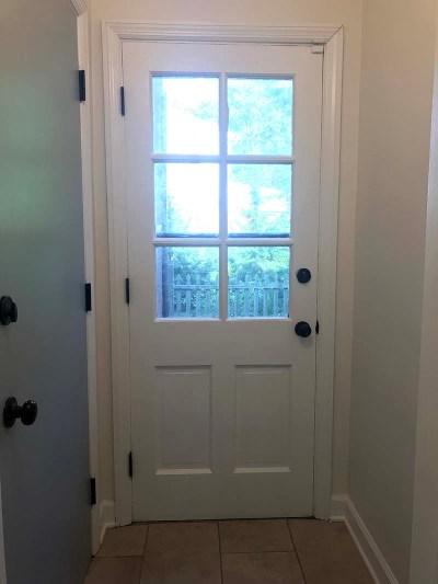 Blue Door Hallway