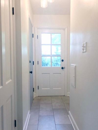 Hallway Painted