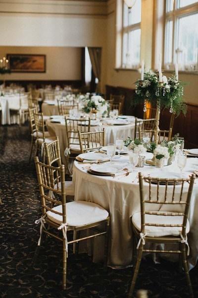 Reception Table Details