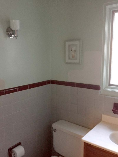 Half Bath Before