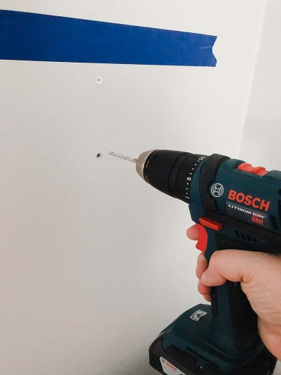 Drilling Into Wall