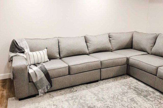 Ashlor Sectional Front Angle