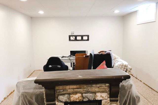 Basement After TV Space