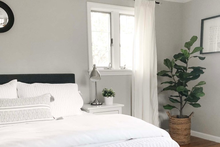 Bedroom SW Repose Gray