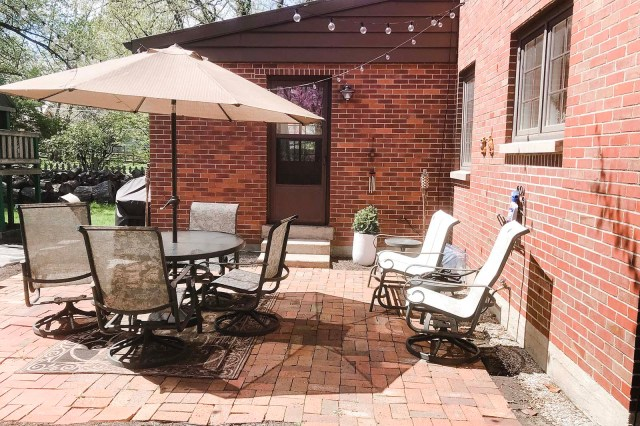 Brick Patio 2019 Before Whitewash