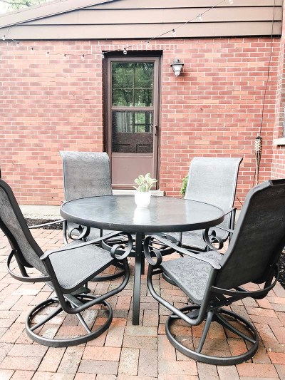 Patio Set After Sitting Area