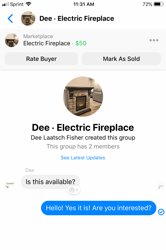 Selling Convo 1