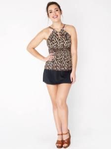 bora bora panther and swim skirt