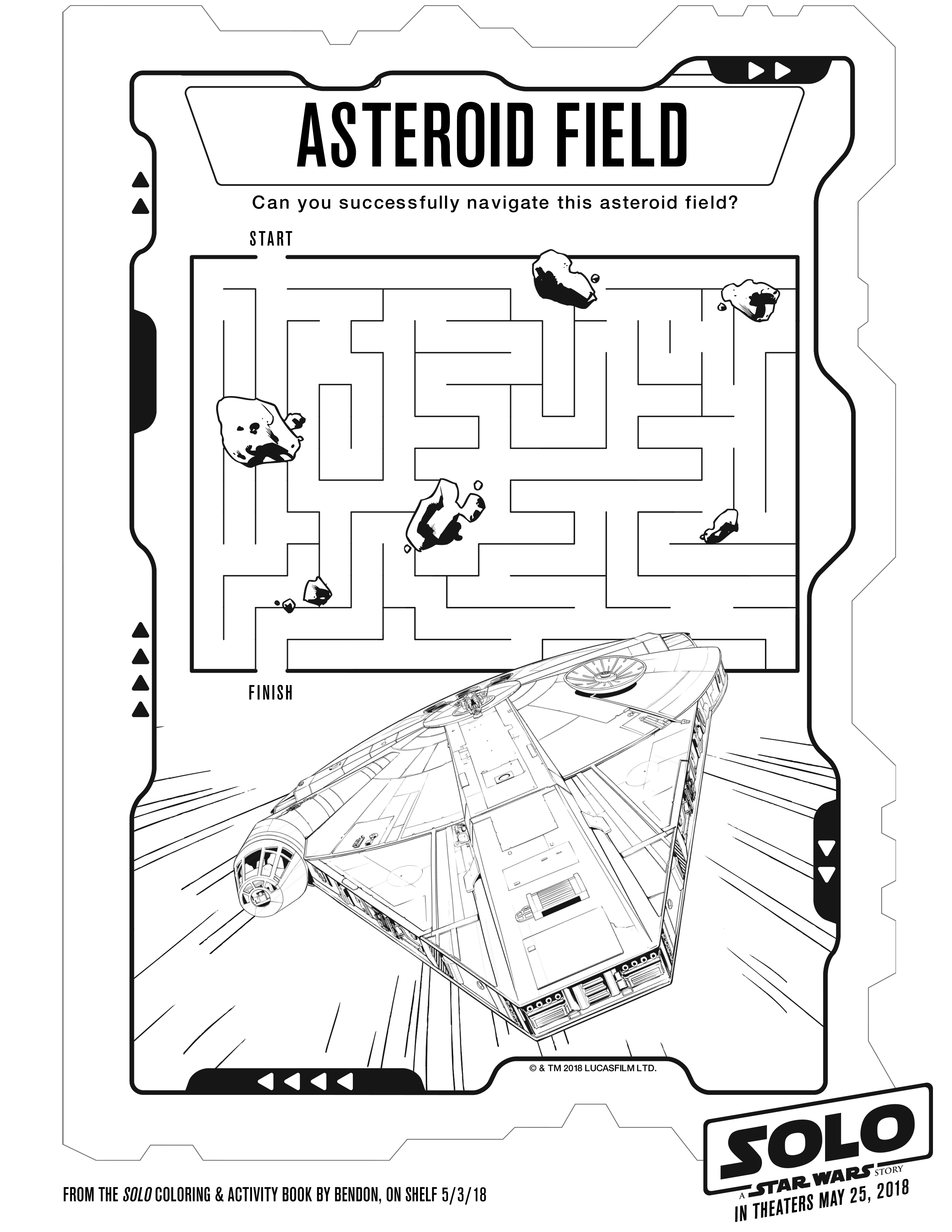 SOLO: A STAR WARS STORY Coloring and Activity Pages ...