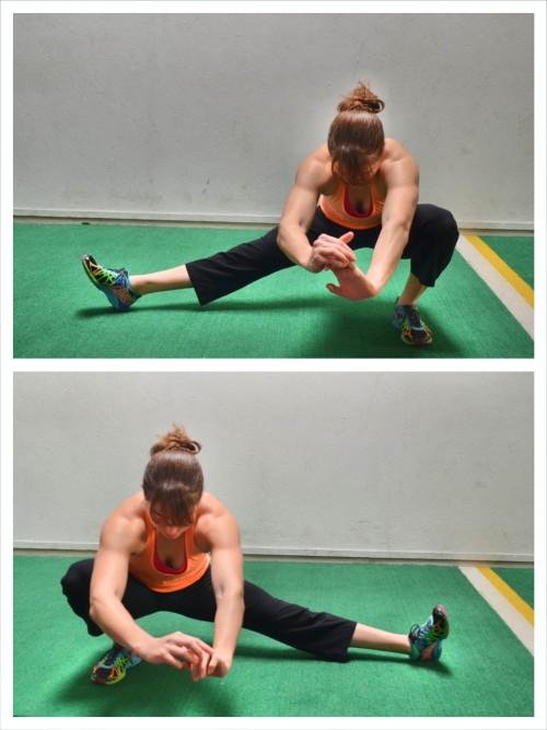 cossack-squat-variation
