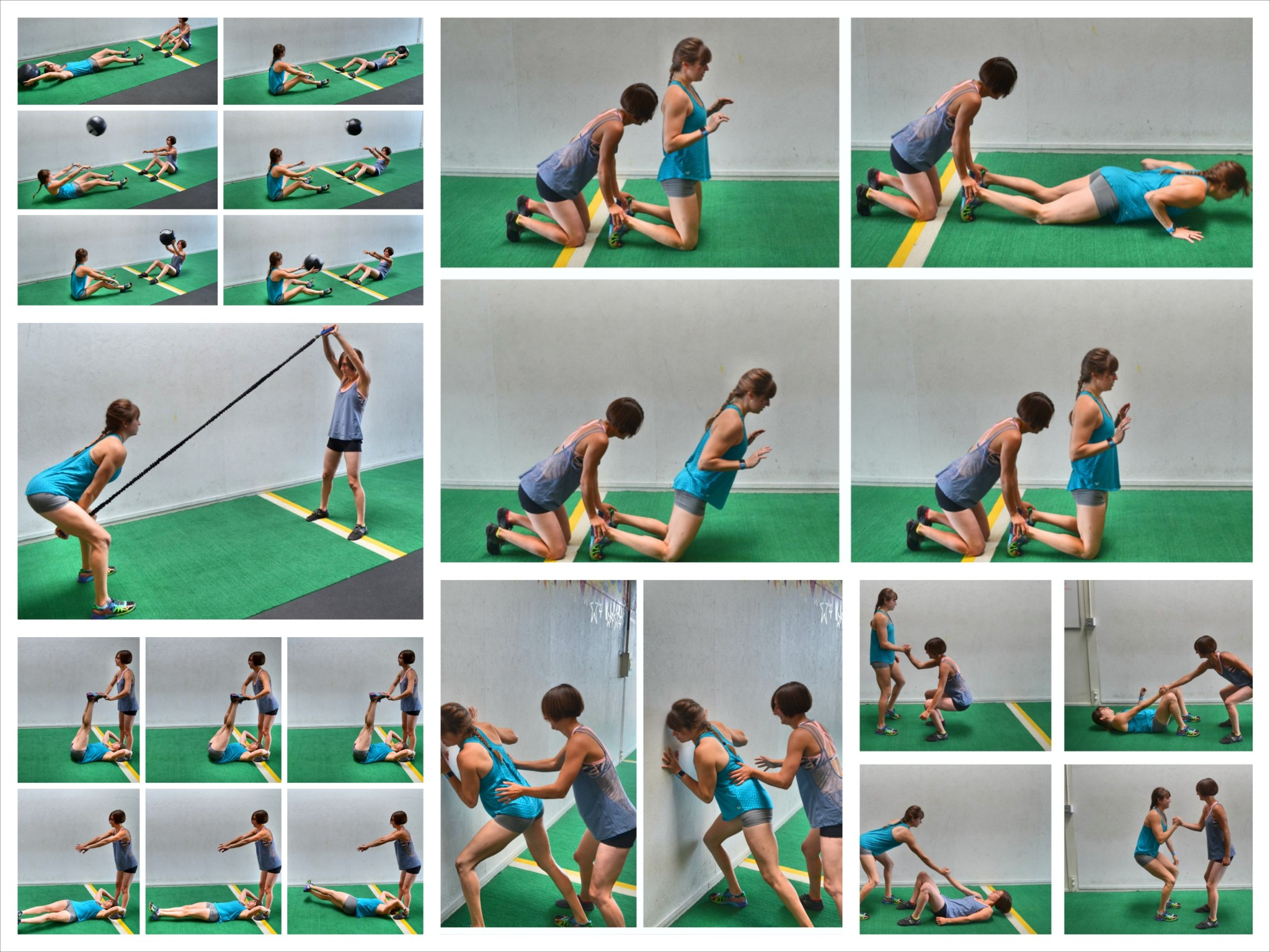20 Partner Exercises