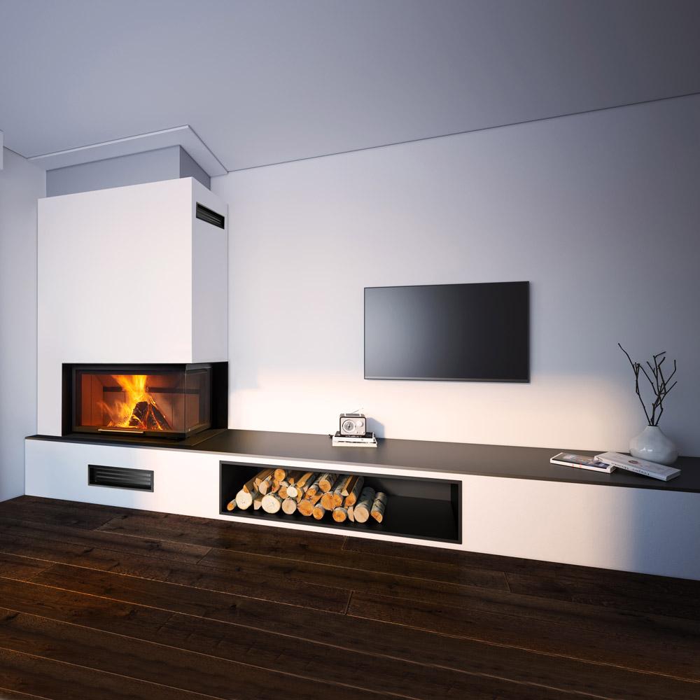 Rocal G450 LD Wood Stove