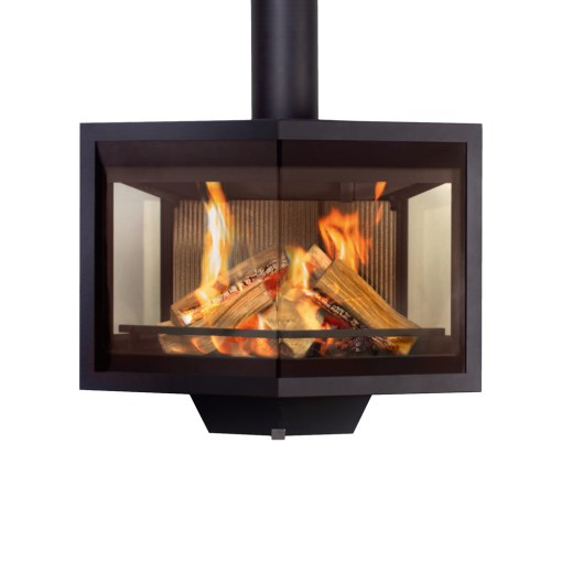 wanders black diamond floating wood stove