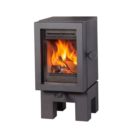 wanders oak wood stove anthracite grey