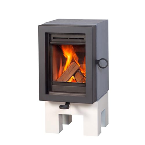 wanders oak wood stove grey white