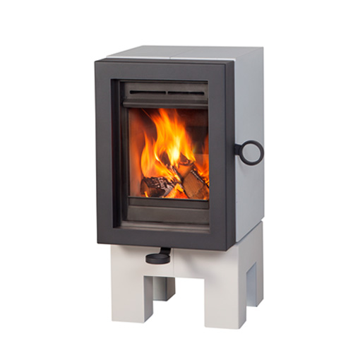 wanders oak wood stove white white