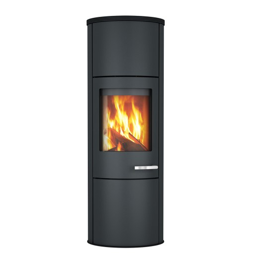 skantherm merano xl wood stove blk steel