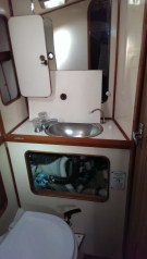 Fwd head with toilet and sink