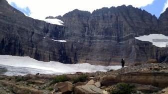 Check out that huge glacier!