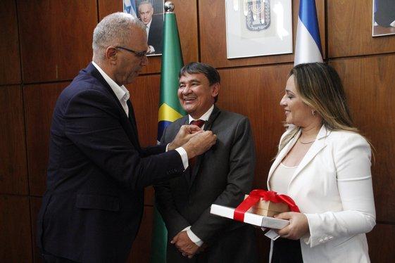 governador se reúne com embaixador de Israel