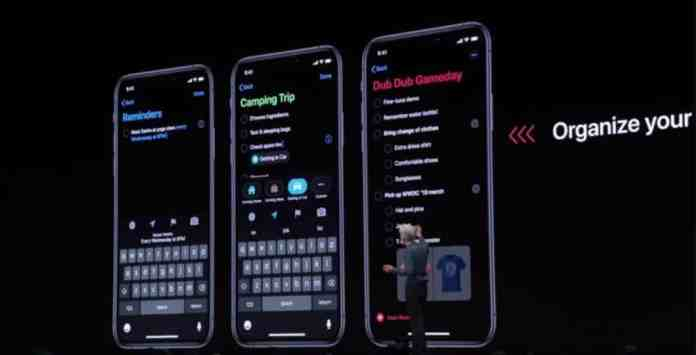 Dark Mode en iOS 13