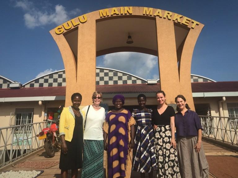 Karon & team Gulu Market