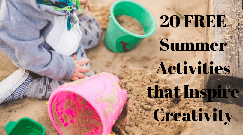 20 FREE Summer Activities that Inspire Creativity