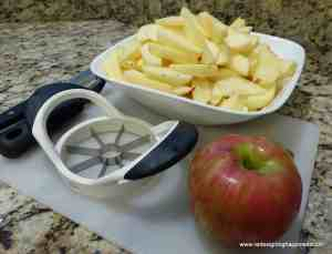 delicious homemade apple crisp