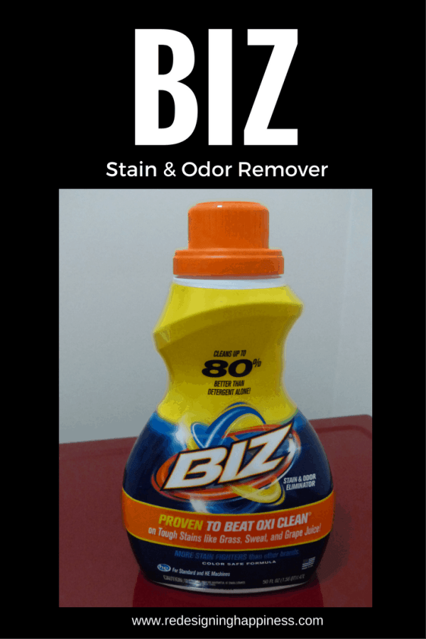 Introducing Biz Stain & Odor Remover