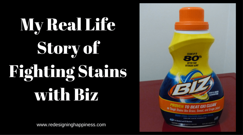My Real Life Story of Fitting Stains with Biz